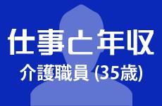 【仕事と年収】介護職員(35歳男性)の場合