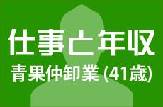 【仕事と年収】青果の仲卸業者(41歳男性)の場合