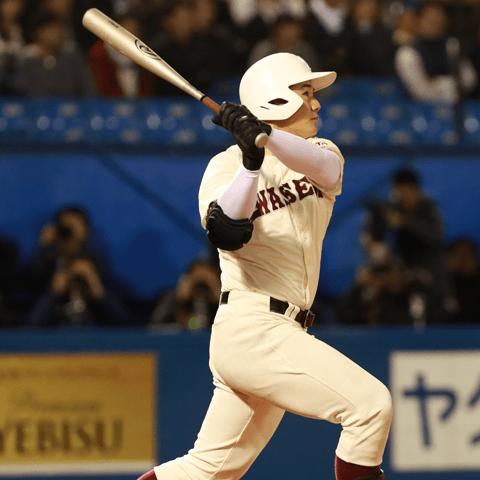 高校通算本塁打数更新も見えてきた清宮幸太郎(早稲田実業)